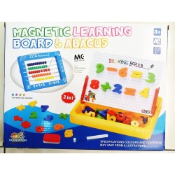 Second Classroom Magnetic Learning Board & Abacus