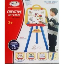 First Classroom Creative Art Easel (ABC + shapes)