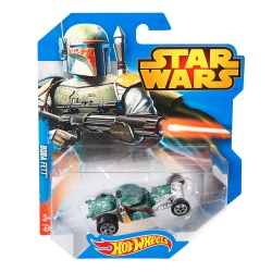 Hotwheels Character Car Star Wars Boba Fett