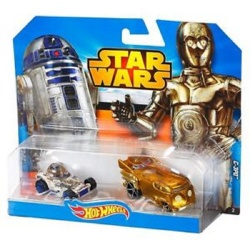 Hotwheels Character Car Star Wars C3P0 & R2D2