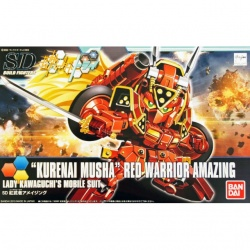 Bandai SDBF Red Warrior Kurenai Musha Amazing Gundam