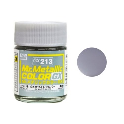 Mr Hobby Mr Metallic Color GX2013 Metal Silver